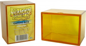 Dragon Shield Gaming Box (Yellow)