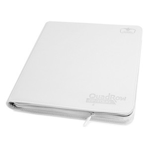 Quadrow Zipfolio Playset Binder (White)