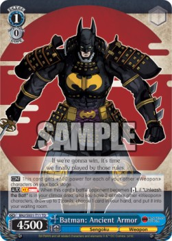 Batman: Ancient Armor (V.1 - Trial Deck)