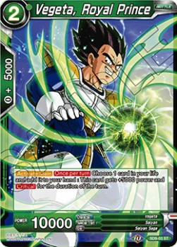 Vegeta, Royal Prince