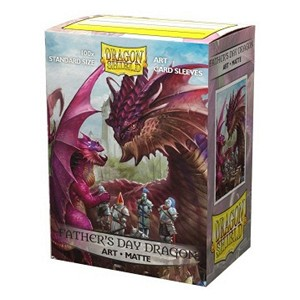100 Dragon Shield Sleeves - Matte Father's Day Dragon