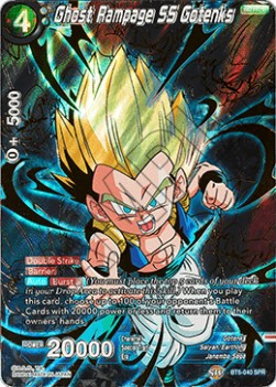 Ghost Rampage SS Gotenks (Version 2 - Special Rare)