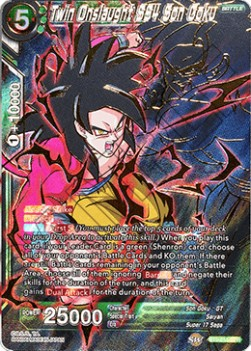 Twin Onslaught SS4 Son Goku (Version 2 - Special Rare)