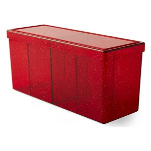 Dragon Shield: 4-Compartment Card Box (Ruby)