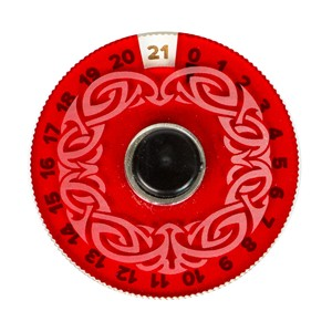 Blackfire Disk Life Counter (Red)