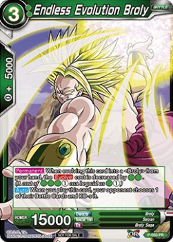 Endless Evolution Broly (Version 1 - Promo)