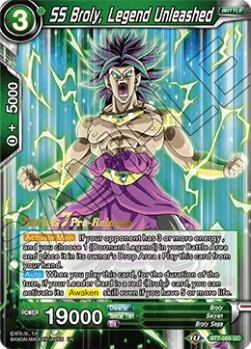 SS Broly, Legend Unleashed