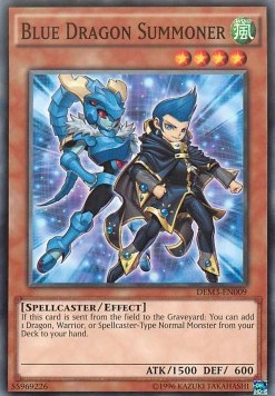 Invocateur Dragon Bleu