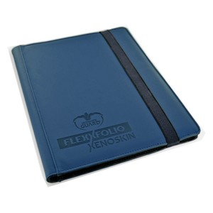 Flexxfolio XenoSkin 9-Pocket Binder (Blue)