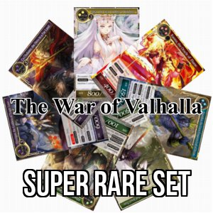 The War of Valhalla: Super Rare Set