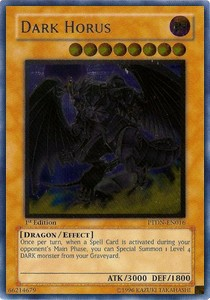 Finsterer Horus (Version 2 - Ultimate Rare)
