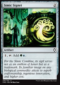 Simic Signet (Version 2)