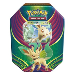 Evolution Celebration Tins: Leafeon GX Tin