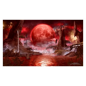 GnD Cards: Blood Moon Spielmatte