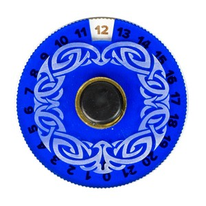 Blackfire Disk Life Counter (Blue)