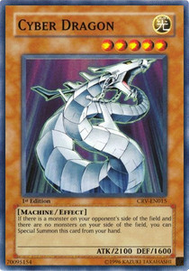 Cyber Drache (Version 1 - Super Rare)
