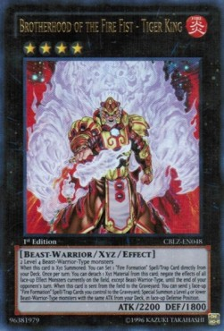 Brotherhood of the Fire Fist - Tiger King (Version 1 - Ultra Rare)