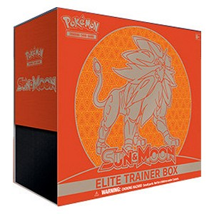 Elite Trainer Box de Sol y Luna (Solgaleo)