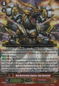 New Destruction Emperor, Gaia Devastate [G Format] (Version 1 - Triple Rare)