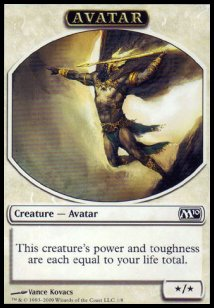 Avatar Token (White */*)