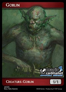 Goblin Token (Red 1/1) (V.1)