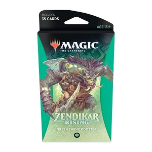 Zendikar Rising Theme Booster (Green)