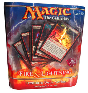 Flames of the Blood Hand Premium Deck Series Fire /& Lightning n°22  Foil NM