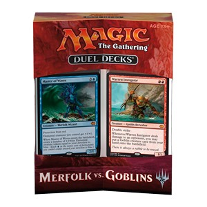 Set complet de Duel Decks: Merfolk vs. Goblins