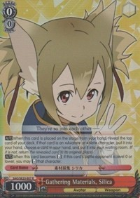 Gathering Materials, Silica (Version 1 - Rare)