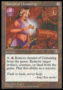 Amulet of Unmaking