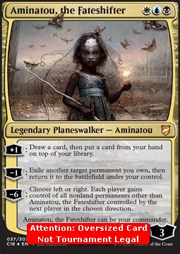 Aminatou, the Fateshifter (Version 2)