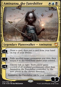 Aminatou, the Fateshifter (Version 1)