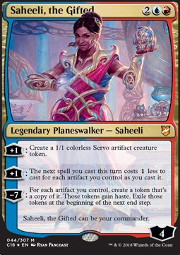 Saheeli, the Gifted (V.1)
