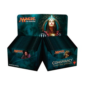 Caja de sobres de Conspiracy: Take the Crown