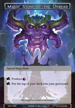 Magic Stone of the Undead