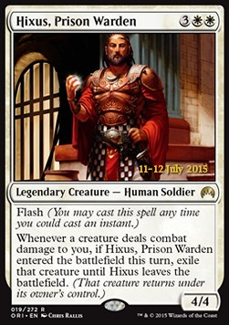 Hixus, Prison Warden (Version 1)