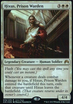 Hixus, Prison Warden (Version 2)