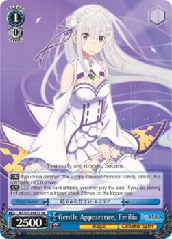 Gentle Appearance, Emilia (V.2 - Super Rare)