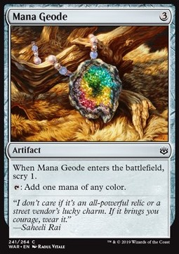 The Gathering Mana Geode War of The Spark Magic