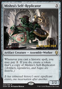 NM-Mint English 1 x MTG Helm of the Host Dominaria