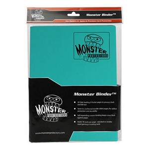 Monster: Album a 9 casillas  (Dragonfly Teal)