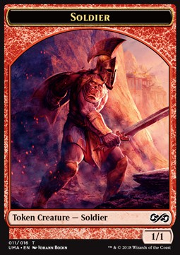 Soldier Token (Red 1/1)