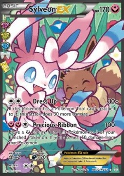 Sylveon EX (Ultra Rare) (Radiant Collection)