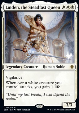 Linden, the Steadfast Queen (Version 2)