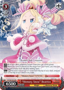"""Memory Snow"" Beatrice (V.1 - Double Rare)"