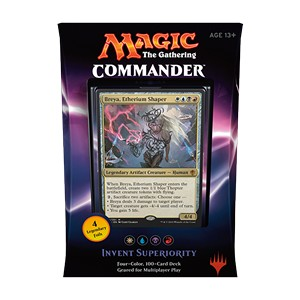 "Commander 2016: ""Invent Superiority"" Deck (White/Blue/Black/Red)"