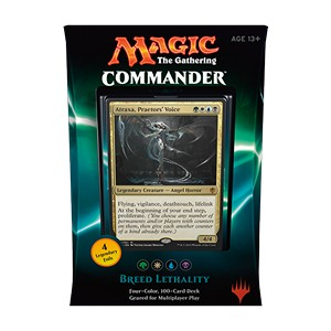 "Commander 2016: ""Breed Lethality"" Deck (Green/White/Blue/Black)"