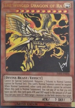 The Winged Dragon of Ra (Version 2 - Ultra Rare)