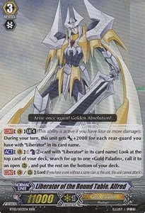 Liberator of the Round Table, Alfred [G Format] (Version 2 - Triple Rare)