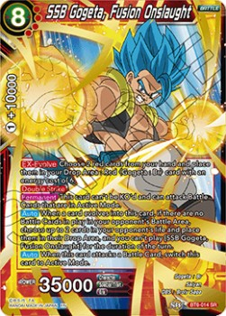 SSB Gogeta, Fusion Onslaught (Version 1 - Super Rare)